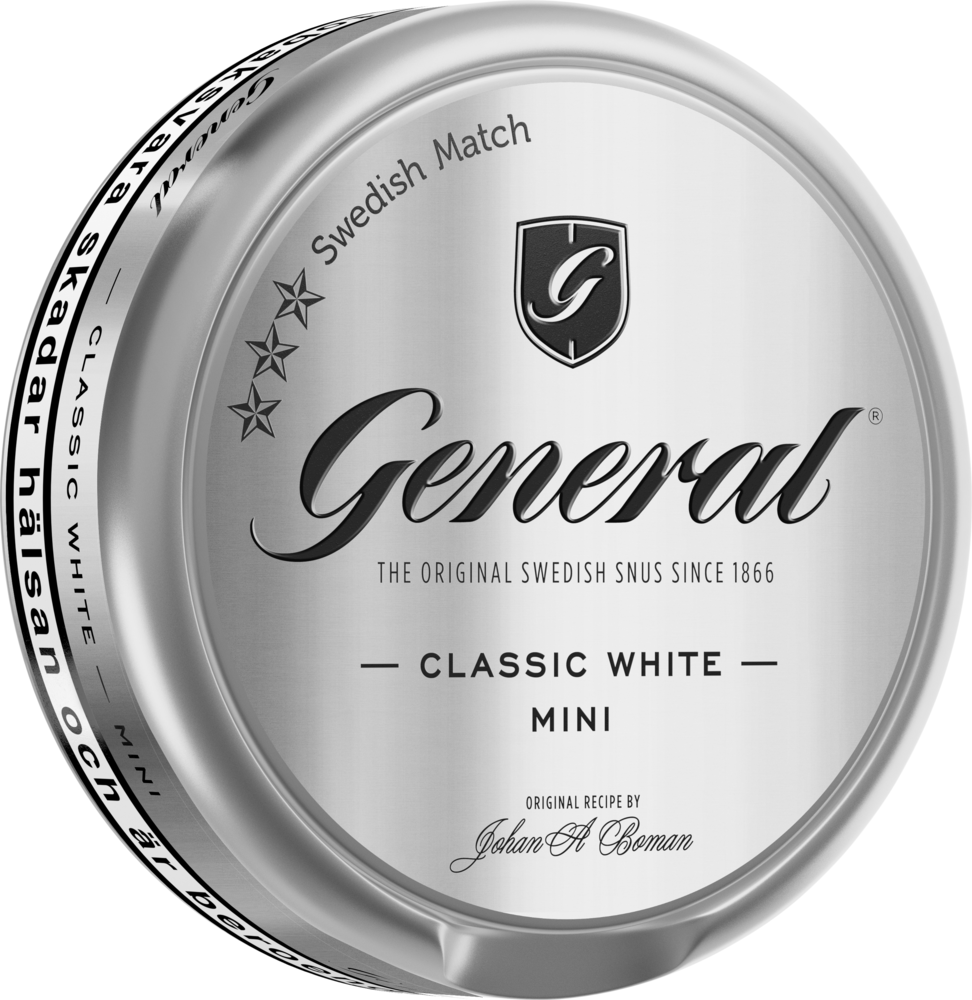 General mini white portion