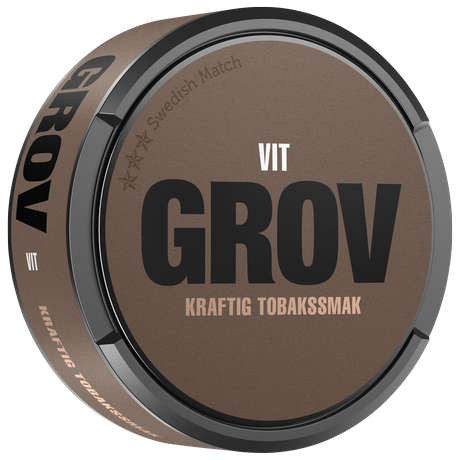 Grov vit portion
