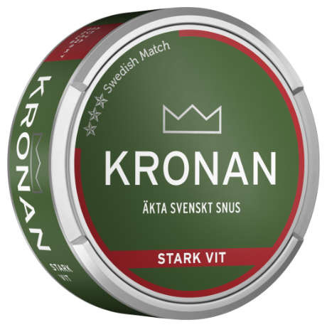 Kronan stark vit, portion