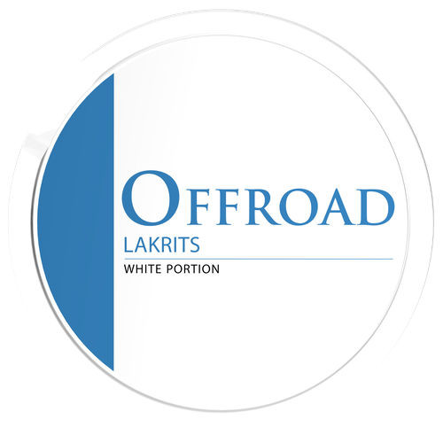 Offroad lakrits white portion