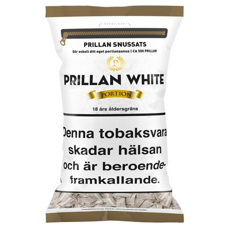 Prillan White Portion