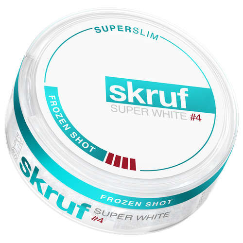 Skruf Frozen Shot super white #4