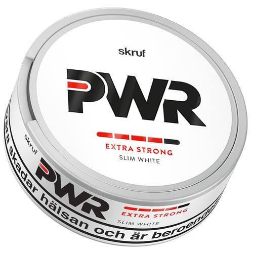 Skruf PWR white extra strong