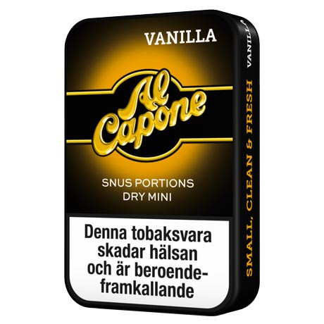 Al Capone vanilla, portion