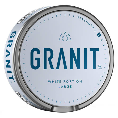 Granit white portion
