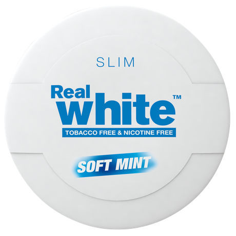 Kick up Real white soft mint slim