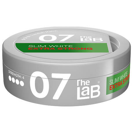 The Lab 07 extra strong white - kort datum