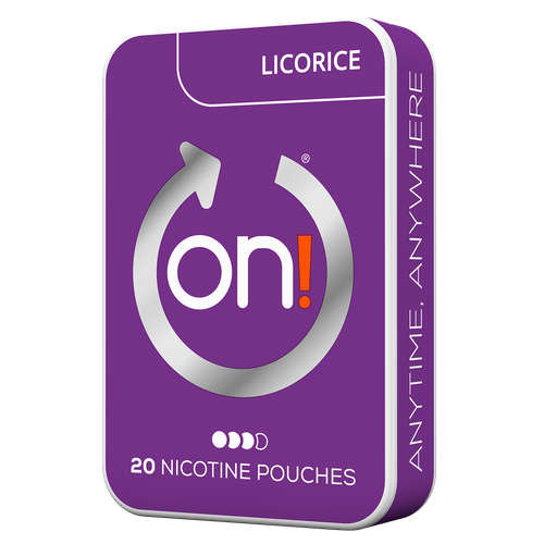 on! Licorice 6 mg