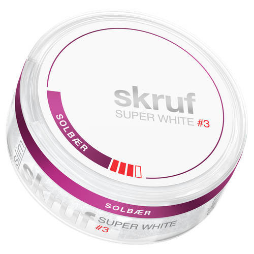 Skruf Solbär super white #3