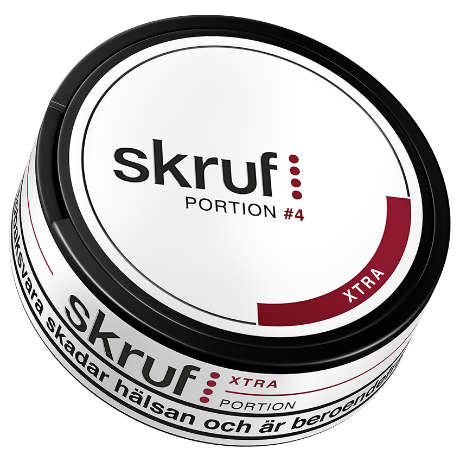 Skruf xtra stark portion