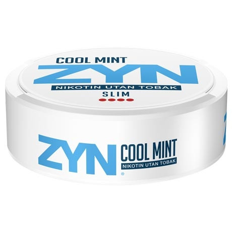 Zyn Cool mint extra strong