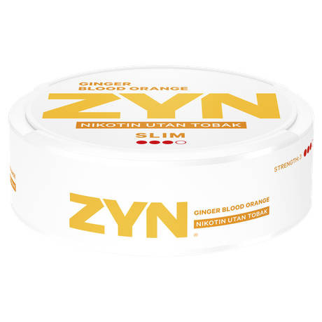 Zyn Ginger blood orange slim